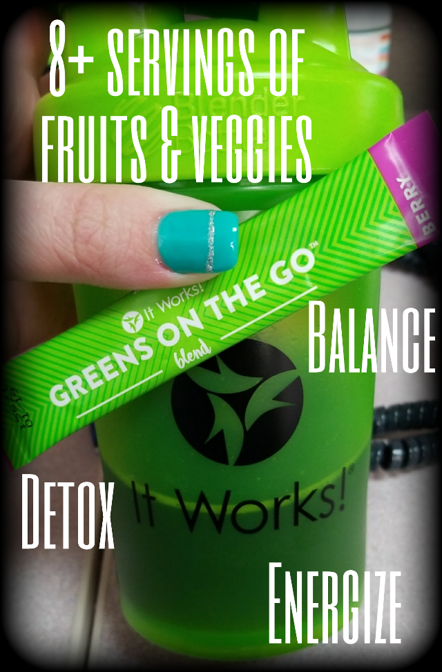 I don't go a day without my greens! #itworksgreens #detox #yummy