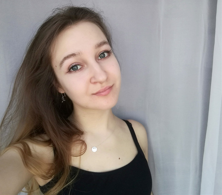 Instagram: the_sense_of_nonsense #girl  #polishgirl #me #photography #smile #happy #pale #longhair #brownhair #eyes #blueeyes  #freetoedit