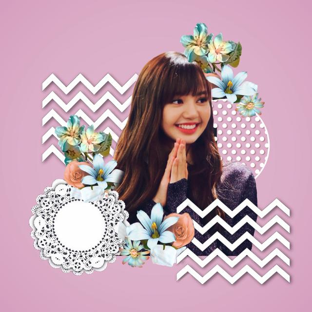 #freetoedit #girl #korean #kpop #patterns #flowers
