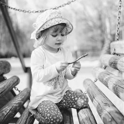 tresure girl portriat black&white black