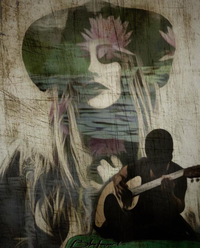 """#freetoedit #remixedwithpicsart #doublexposure #magicfx #artisticfx #paperfx Bbefanart inspired by an old song  """"Landslide"""" by Fleetwood Mac (Stevie Nicks 😍) https://youtu.be/WM7-PYtXtJM"""