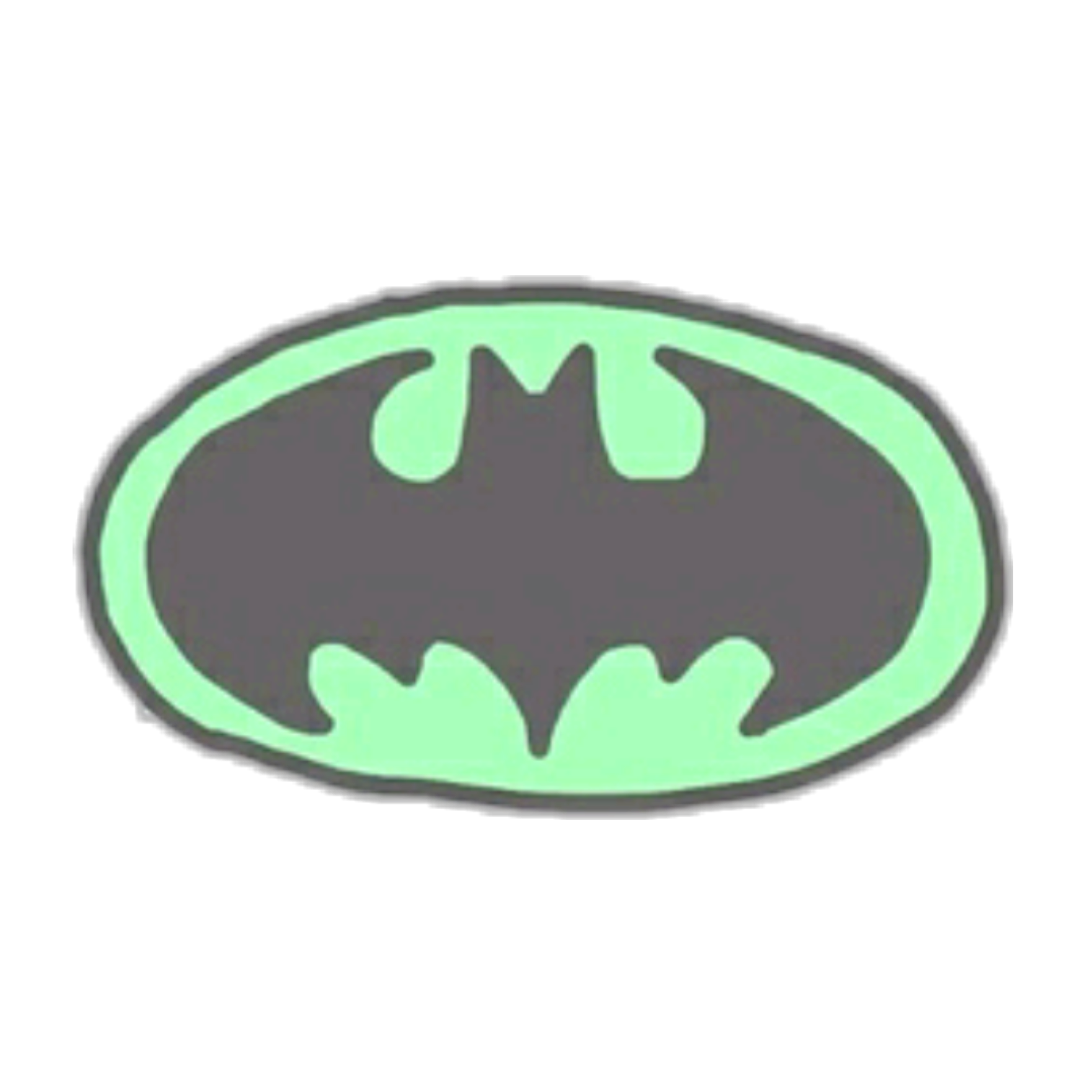 Batman Batmanstickerremix Sticker Green Fledermaus