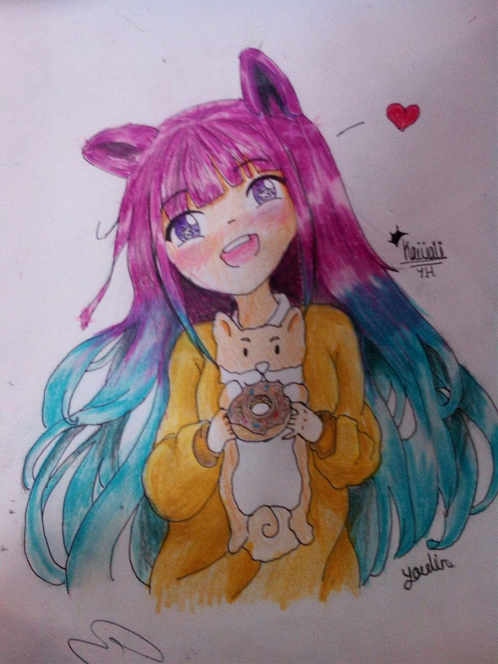 Dibujos Drawing Draw Kawaii Anime Colors Tumblr