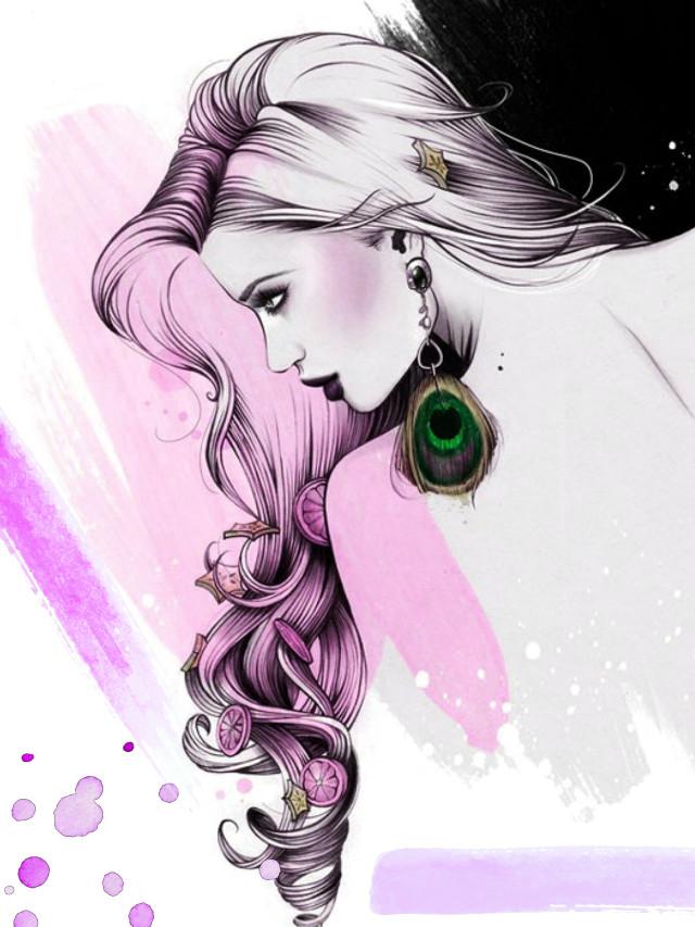 #freetoedit #woman #portrait #illustration #myedit #madewithpicsart