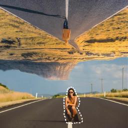 freetoedit upsidedown outlones women road