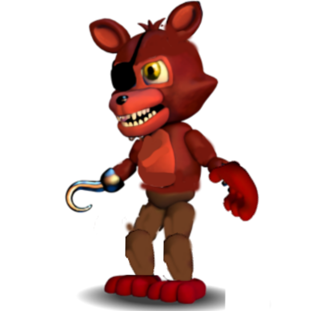 adventure foxy I don't care that's it's unwithered foxy