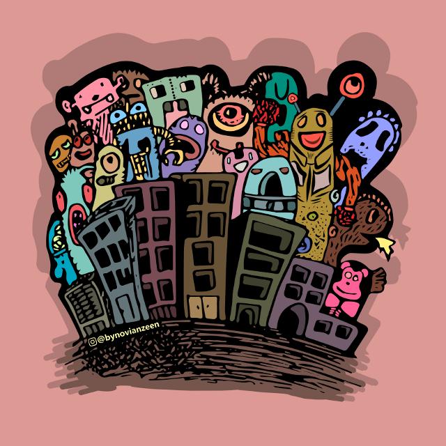 #illustration #illustrator #indonesia #bynovianzeen