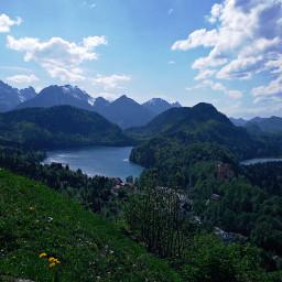 freetoedit bavaria alpen schwangau landscape
