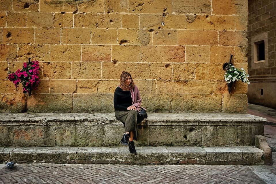 #tuscany #city #street #italy