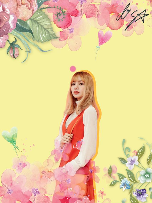 #lisa #lisablackpink #blackpink #kpop   #kpopKorea #Korea #flower #kpopkorea