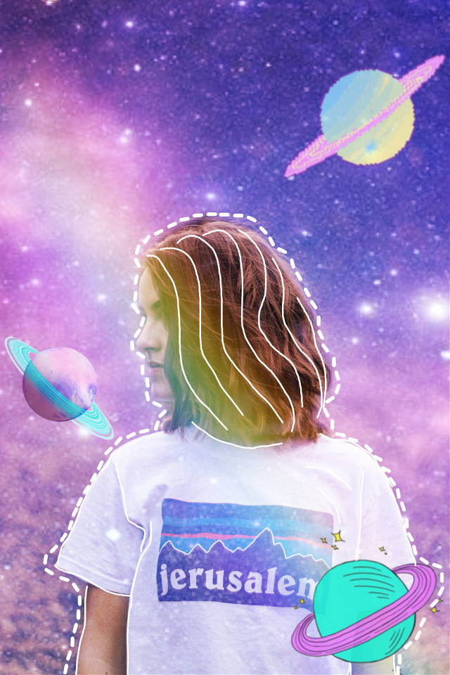 #freetoedit #tumblr #space #saturn #aesthetic #followme #like