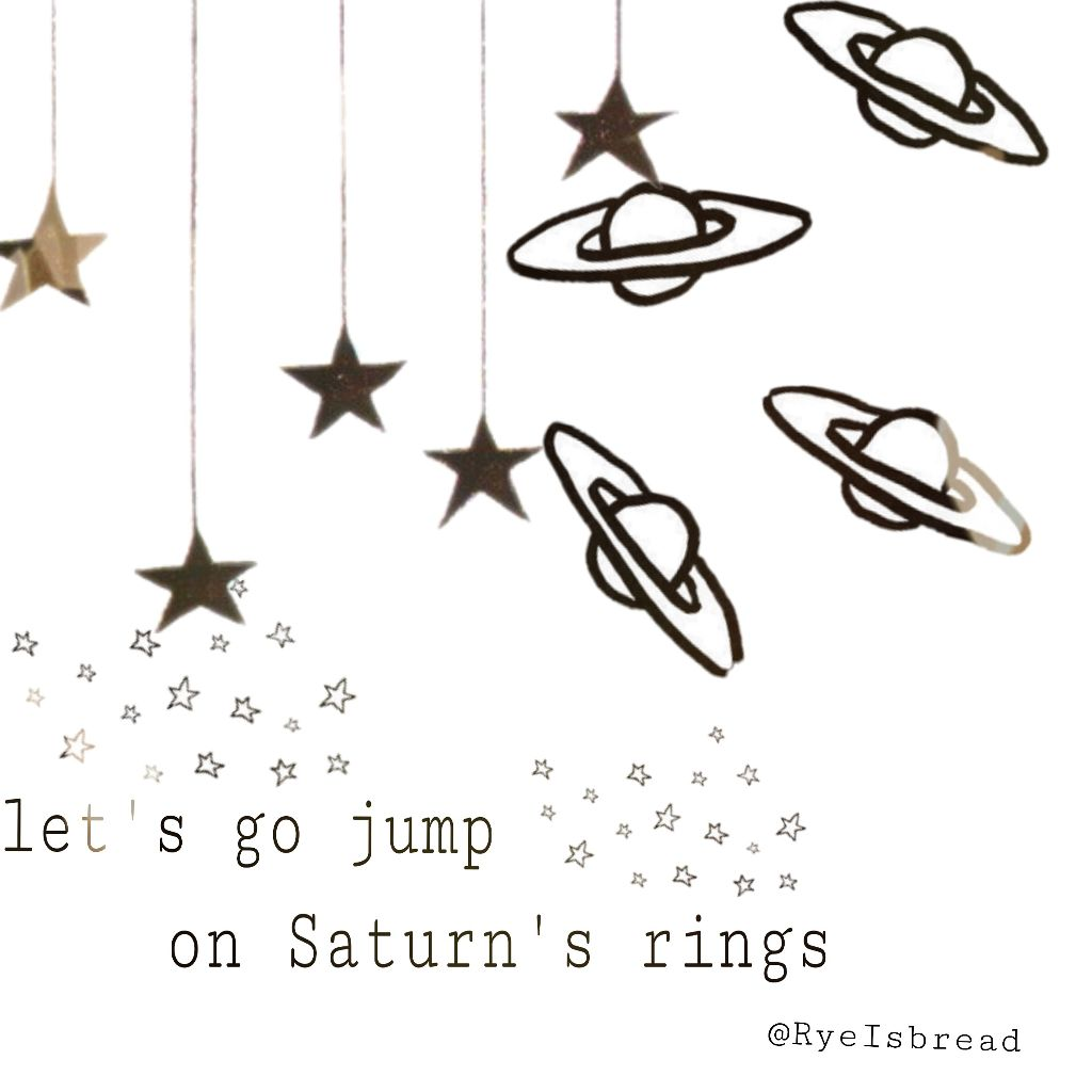space saturn star cute romantic firstedit oof letsgo
