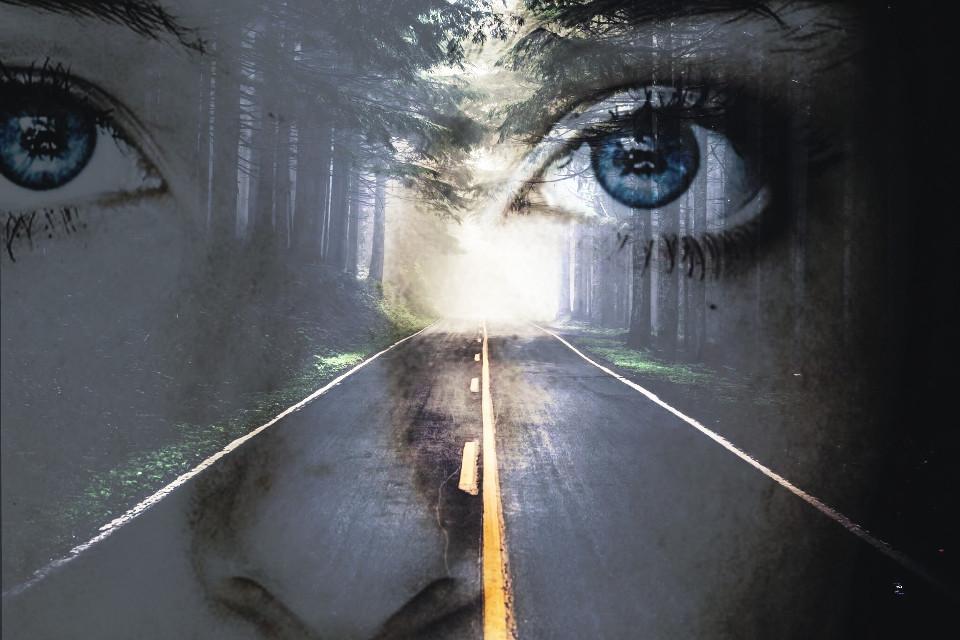 #freetoedit #wood #eyes #girl #edit #photoshop #tumblr #sadness #way #nose #face #cool