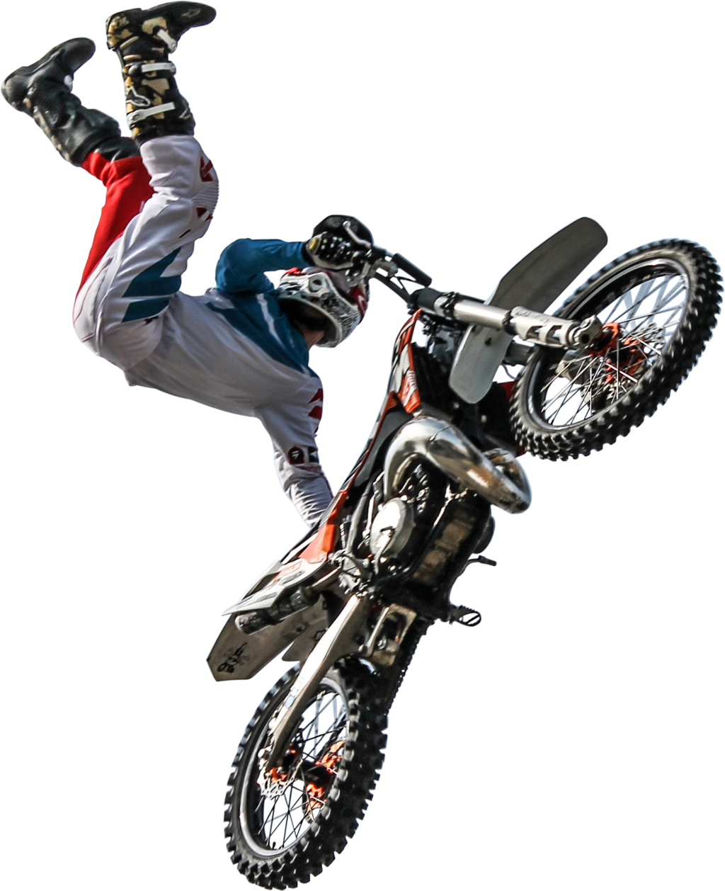 freetoedit dirtbike motocross png sticker jump stunts