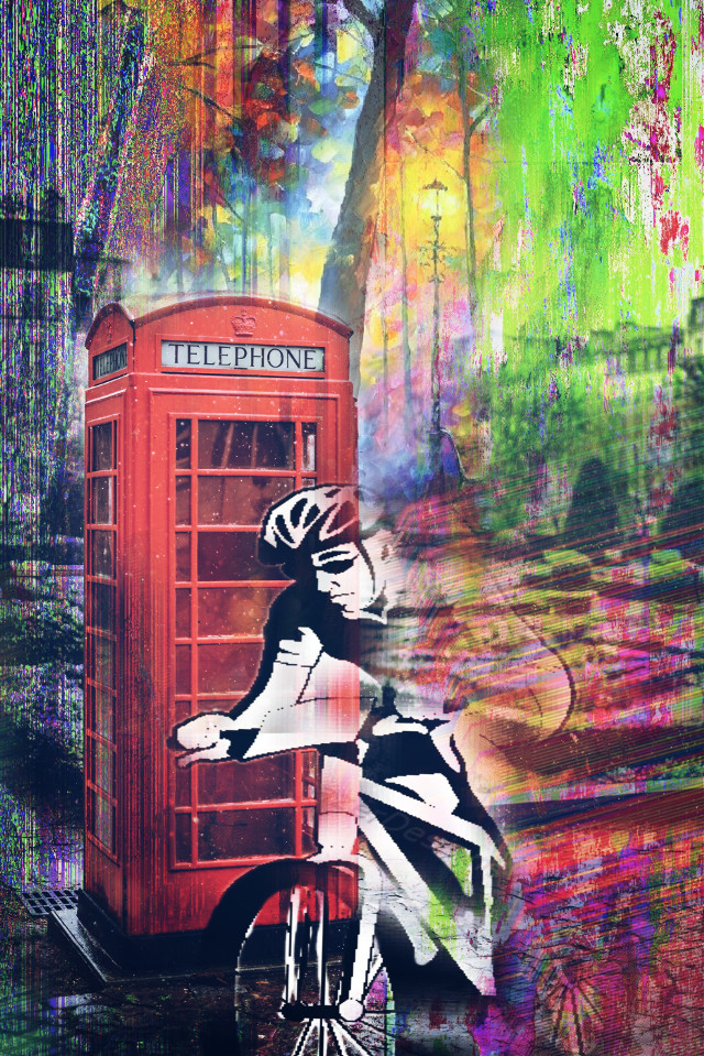 #freetoedit #biker  #ircclassictelephonebooth #classictelephonebooth #cycling