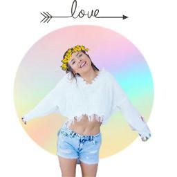 icon jasmin jazzybum rainbow flowercrown freetoedit