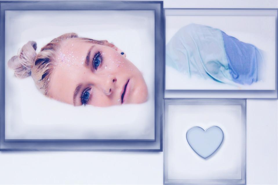 #freetoedit #myedit #frames #blue #heart