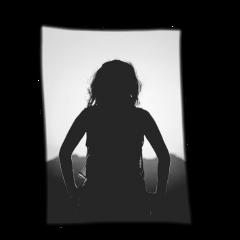 silhouette girl freetoedit
