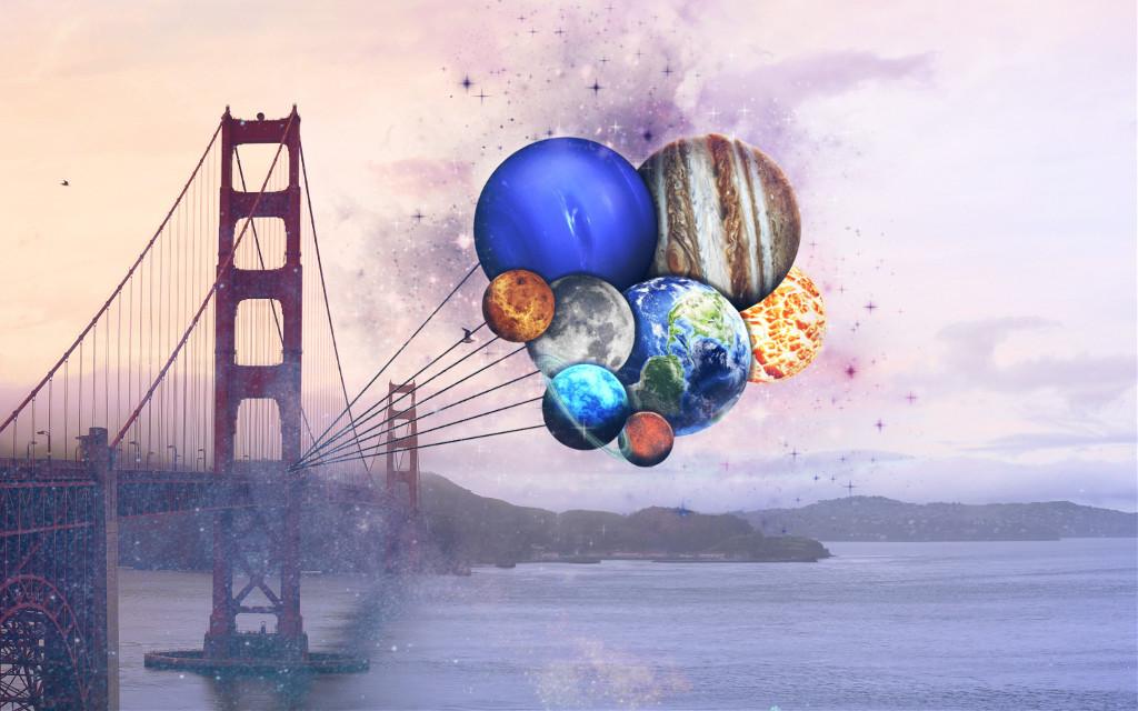 #freetoedit #bridge #planets