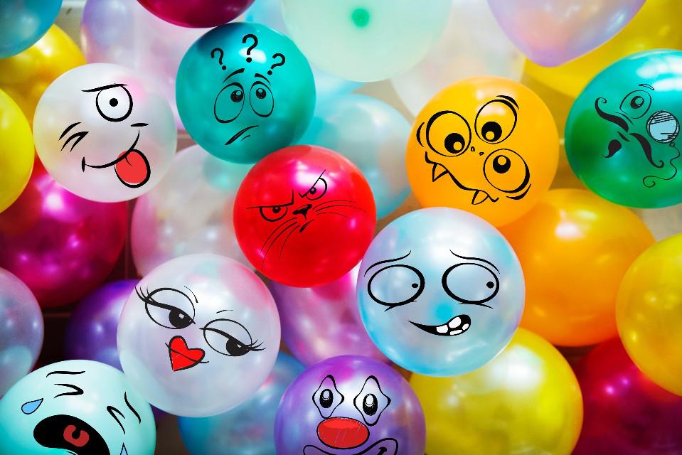 #freetoedit #baloons #funny