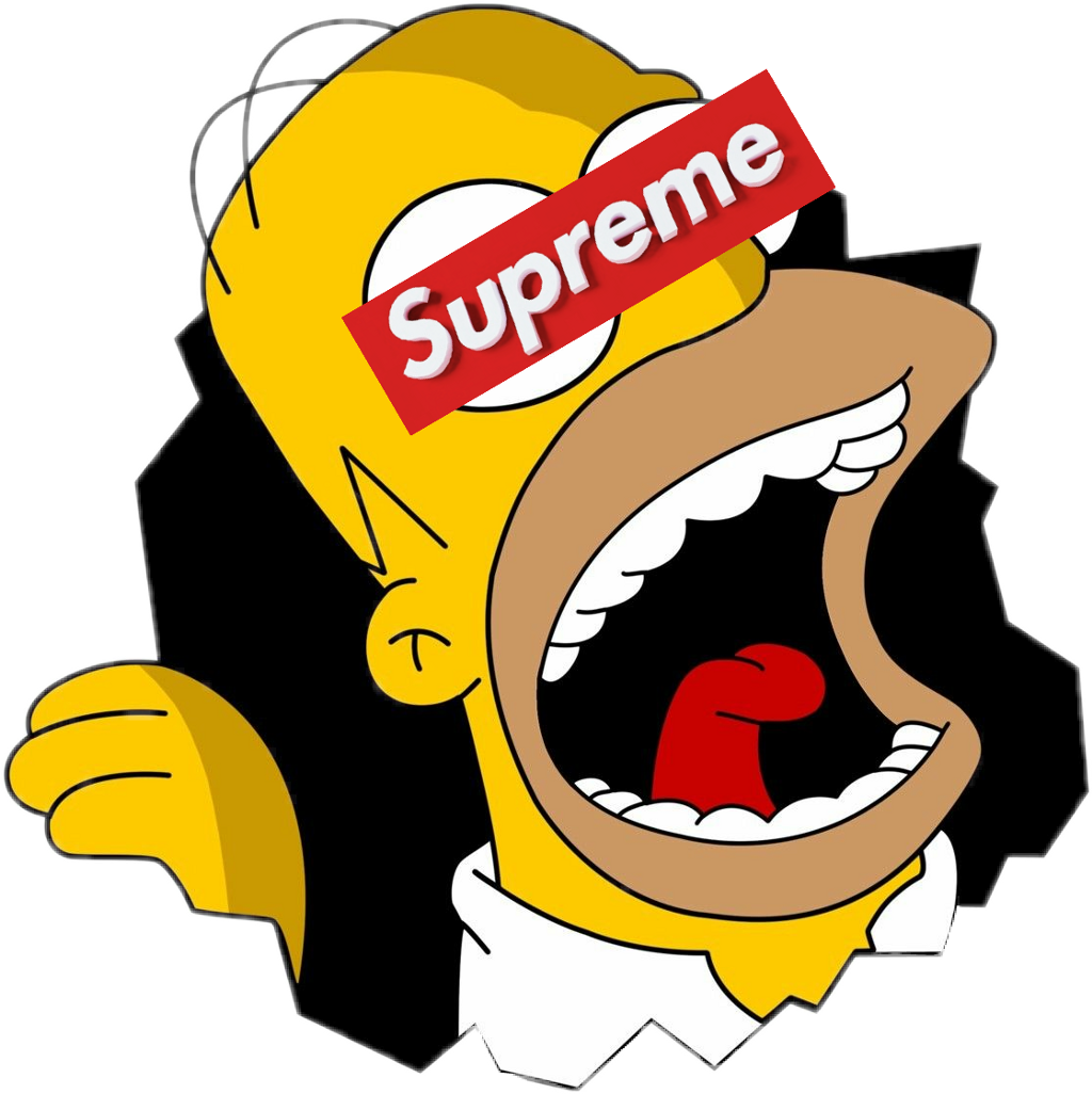 Supreme The Simpsons: Memezasf Homer Bart Supreme Simpsons Thesimpsons Bartsi