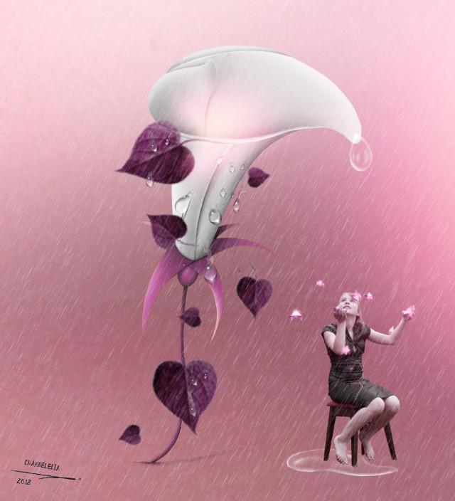 #freetoedit #vipshoutout 🌟💕check out the wonderful gallery of @charbelelia1 ! 🌟💕 #myedit #girl #raindrops #flower @pa @freetoedit