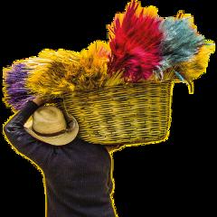colorfulbasket basket colorful freetoedit