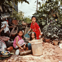 kids children cambodia streets photography