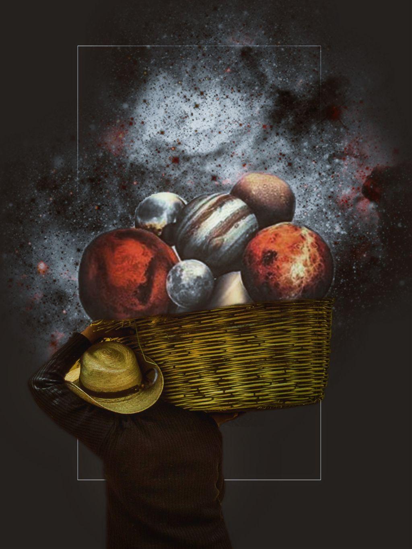 Image from @freetoedit #colorfulbasket #basket #galaxy #planets #drawtools #editstepbystep #madewithpicsart #myedit #stickers #surreality