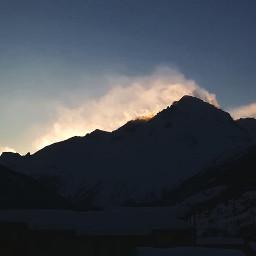 mountains alpes snow