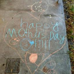 happymothersday sidewalkchalk kidsart love freetoedit