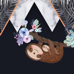 freetoedit sloths background