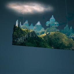 freetoedit landscape crown vibranteffect irclandscape