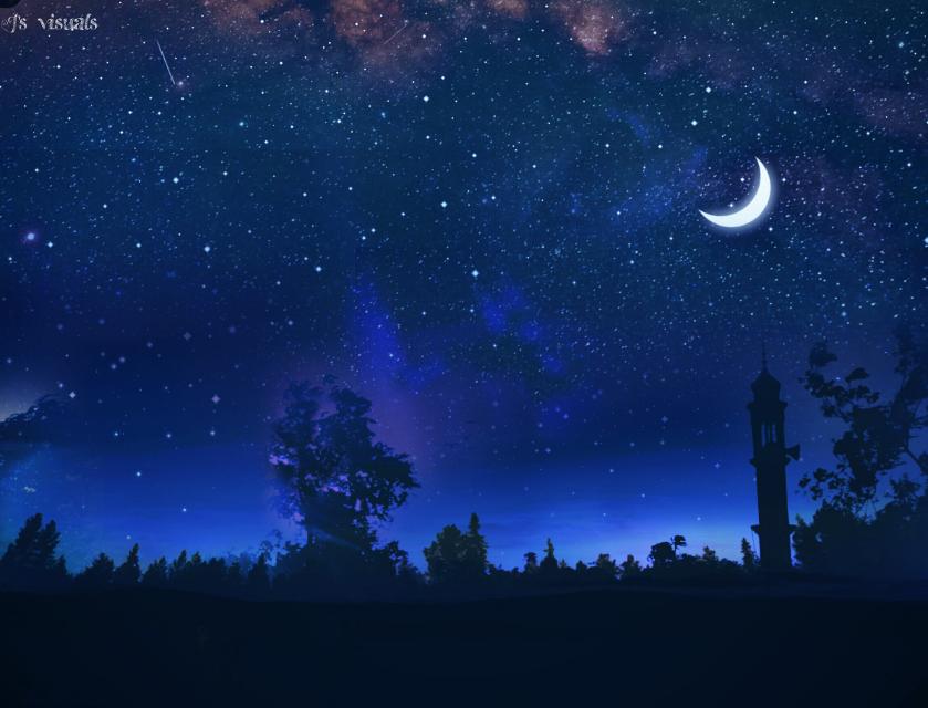 Ramadan Kareem #ramadan #ramadanmubarak #night #picsart #doubleexposure #artistic