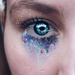 freetoedit saturneye glitter