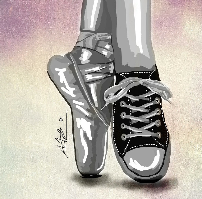 #dcshoes #shoes #drawing #sketch #tumblr #ballet #illustration