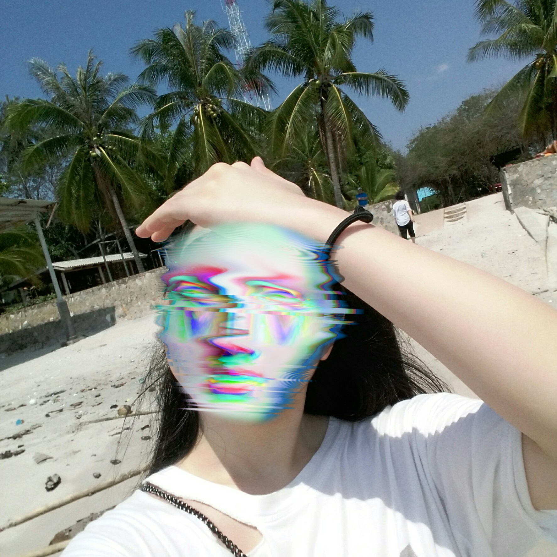 ?#omg #glitch #selfie #collage #selca #cool #weird #funny #me #beach #love #weather #sunny #summer #vibes