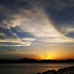 freetoedit view beautifullandscape greece clouds