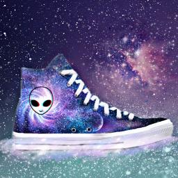 freetoedit stylishsneaker galaxy galaxy