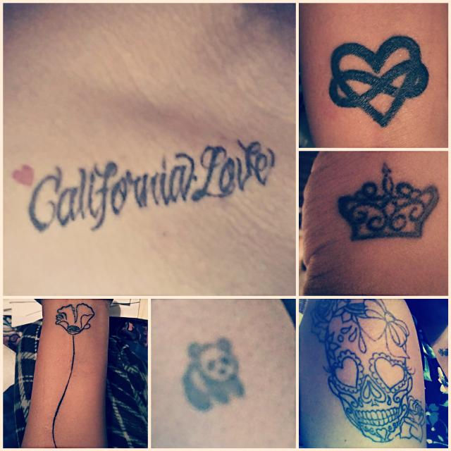 My ink and more coming tonight ♥️ #inkedgirls #tattoos #tattedmama #skulls#heart #crown #panda #poppy #californialove #inkedlife #tatme #inkedbabes