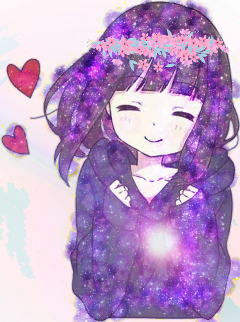 cute galaxy flower freetoedit
