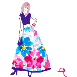 freetoedit promdress floral mydesign mydrawing