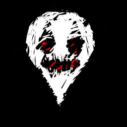 teardrop ghost head exclamation freetoedit