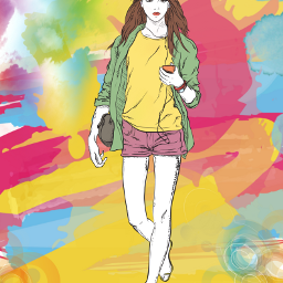freetoedit fashion fashionart watercolors layersonlayers