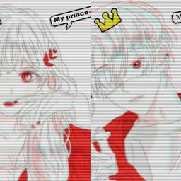 anime animegirl animeboy animecouple
