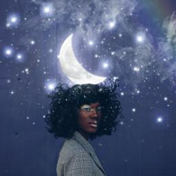 freetoedit moon moonlight moongirl stars