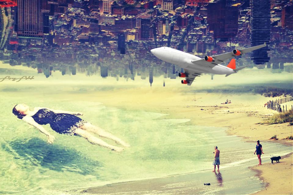 #freetoedit #remix #picsart #myedit #surreal #doubleexposure  #madewithpicsart #edit #myart #sea #people #city #photography