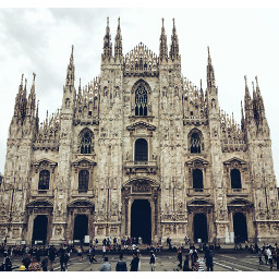 cathedral milan picsart picsartphoto pictureoftheday freetoedit