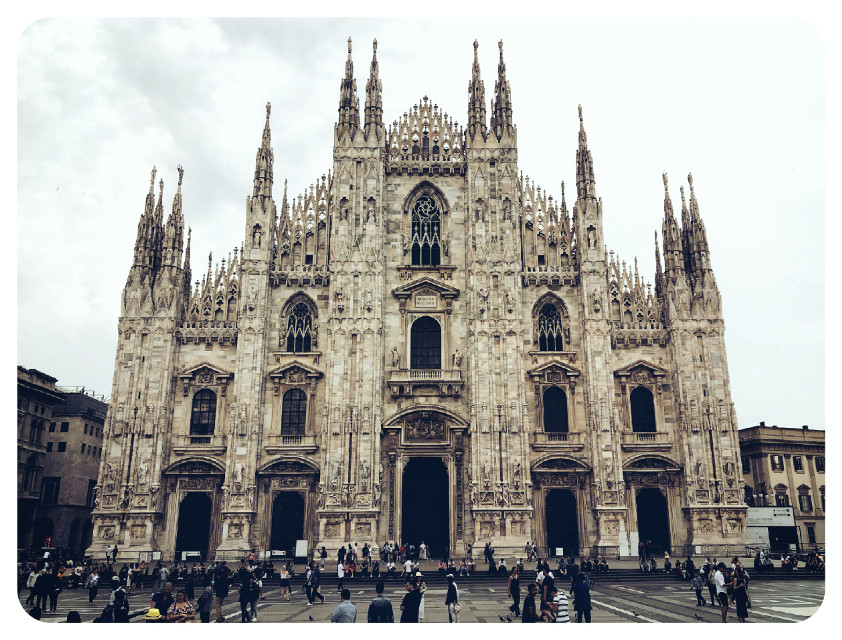 Duomo di Milano #cathedral #milan #picsart #picsartphoto #pictureoftheday #architecture #italy  #freetoedit