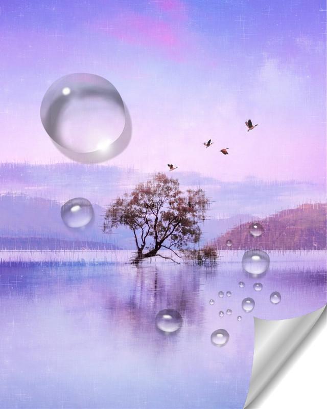 #freetoedit #drop #landscape #purplesky